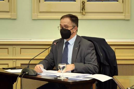 El conseller de Movilidad y Vivienda, Josep Marí i Ribas 'Agustinet'.