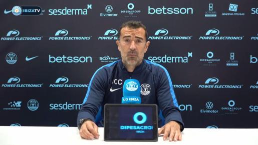 Juan Carlos Carcedo, durante la rueda de prensa.