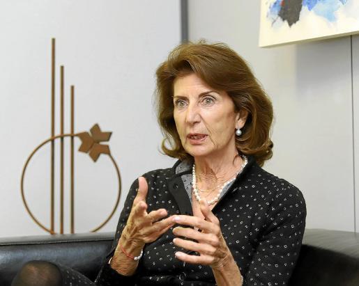 La presidenta de CAEB, Carmen Planas, reclama agilidad en la tramitación de las ayudas del Estado.