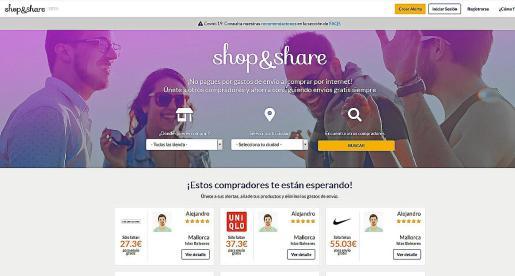 Desde esta semana ya está disponible la versión en beta de la web ShopandShare.es.