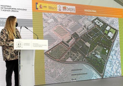 Un momento de la presentación del proyecto urbanístico de Can Escandell.