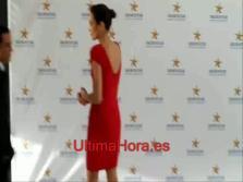 La modelo Nieves Álvarez, en Palma