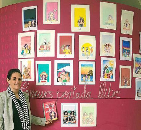 Ayer se expusieron en las instalaciones de la escuela una selección con las mejores candidatas y finalmente Elena Llorente escogió la ganadora.
