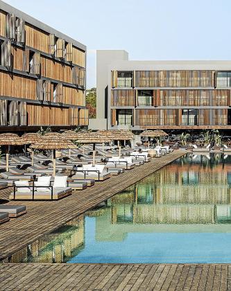 Un hotel de Ibiza, en una imagen de archivo.