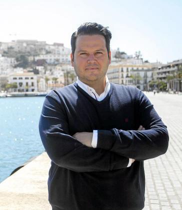 Iván Torres, presidente del Colegio de Arquitectos de Ibiza y Formentera.