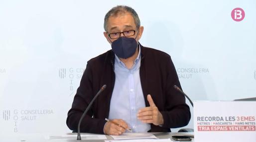 El portavoz de enfermedades infecciosas del Govern, Javier Arranz.