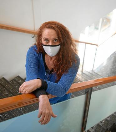 Viviana de Sans, en las dependencias de la conselleria en la que desempeñará su nuevo cargo.