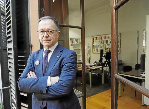 Josep Marí Ribas Agustinet, secretario general de la Federación Socialista de Ibiza (FSE-PSOE).