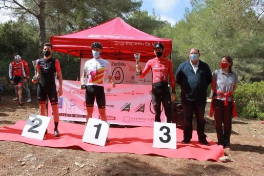El podio de la categoría A