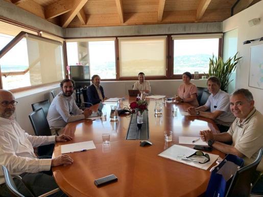 La imagen de esta reunión corresponde a junio de 2020.