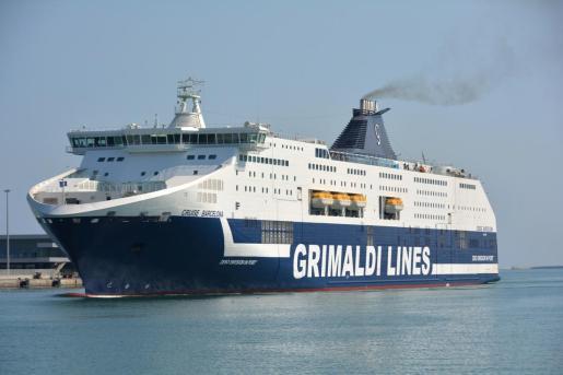 Grimaldi cuenta con una de las flotas más modernas en el Mediterráneo.