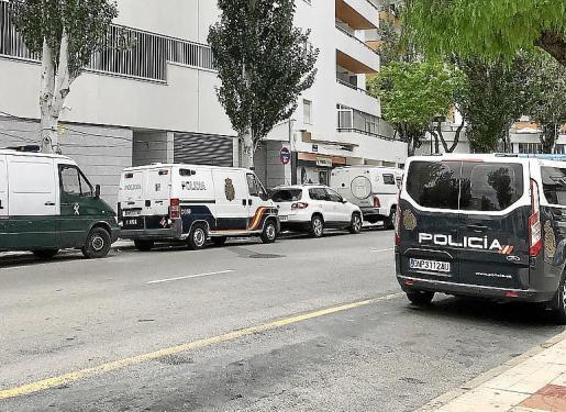 Los acusados comparecieron ayer desde Ibiza por videoconferencia.