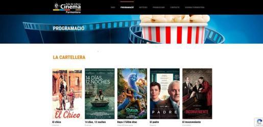 Formentera pone en marcha una web de adquisición de entradas para el cine y eventos culturales.