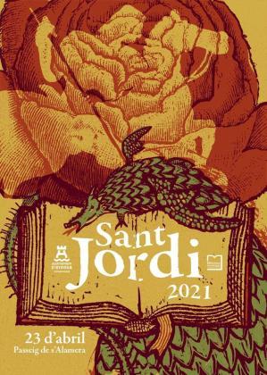 Vila celebra el Día de Sant Jordi con feria de libros en Vara de Rey, visitas a los museos y un concierto al aire libre.