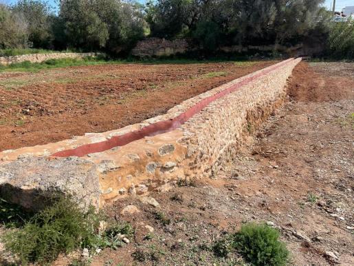 Santa Eulària acaba las obras para devolver el esplendor a 'es broll' de sa Font des Ierns y su entorno.