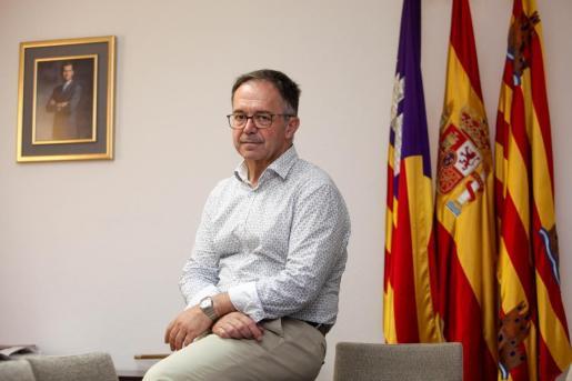 El conseller balear de Vivienda, Josep Marí Ribas 'Agustinet'.