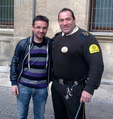 El Follonero ha entrevistado al guardia de seguridad de los Juzgados de Vía Alemania.