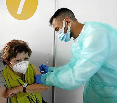 En las Pitiusas se han inyectado hasta este viernes un total de 29.165 vacunas.