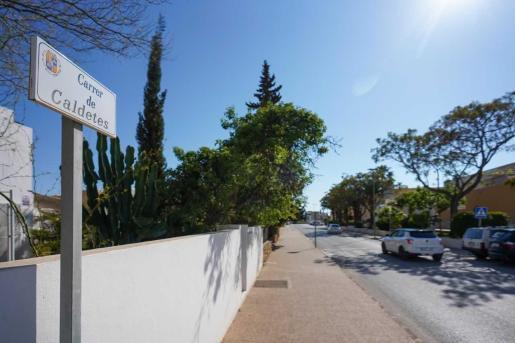 El atraco tuvo lugar en la calle Caldetes de Sant Jordi.