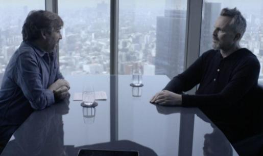 Jordi Évole y Miguel Bosé, en un momento de la tensa entrevista.