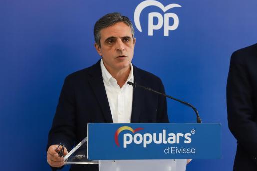 José Vicente Marí Bosó ayer, en rueda de prensa.