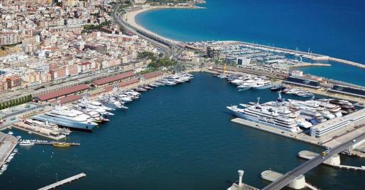 Vista aérea de Marina Port Tarraco.