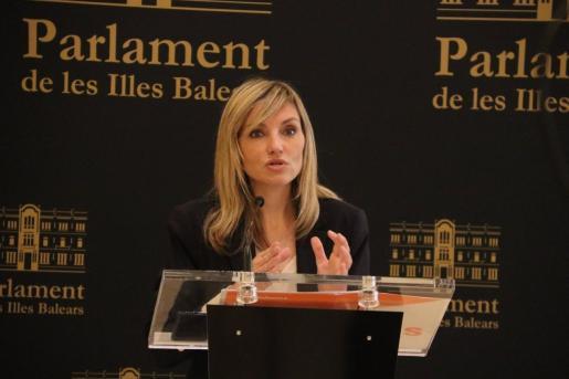 La coordinadora autonómica de Cs y portavoz del Grupo Parlamentario, Patricia Guasp.