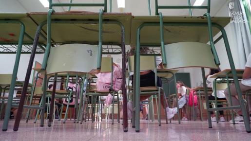 La pandemia obliga a mantener las restricciones en los colegios.