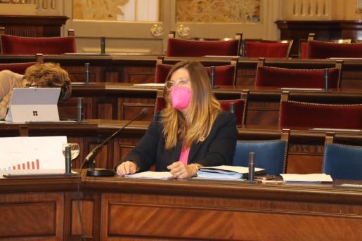 La consellera de Salud y Consumo, Patricia Gómez, en una imagen de archivo.