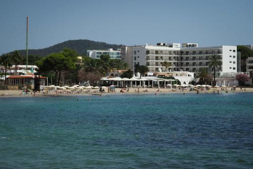 Playa de Es Canar.