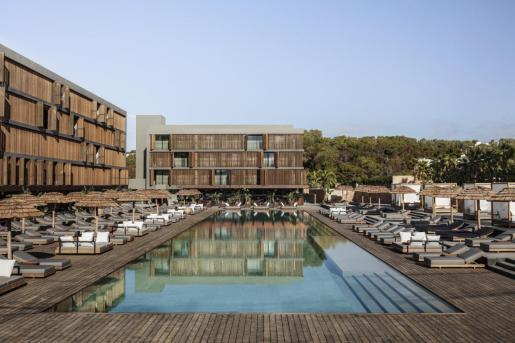 El hotel de cinco estrellas OKU Ibiza.