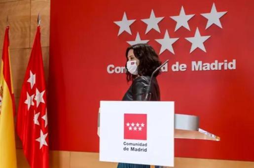 La presidenta de la Comunidad de Madrid y candidata a la reelección, Isabel Díaz Ayuso - EUROPA PRESS/R.Rubio.POOL - Europa Press