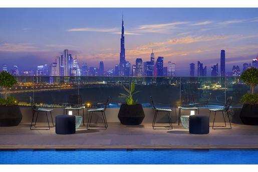 Hotel de Marriott en Emiratos Árabes Unidos.