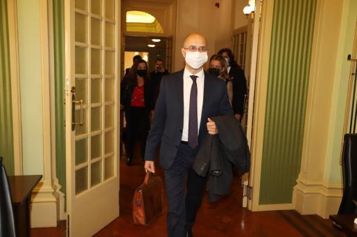 El director de la Oficina Anticorrupción, Jaume Far.