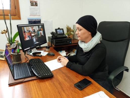 Alejandra Ferrer, presidenta del Consell de Formentera.
