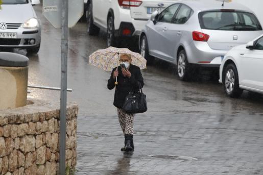 Jornada de lluvias en las Pitiusas.