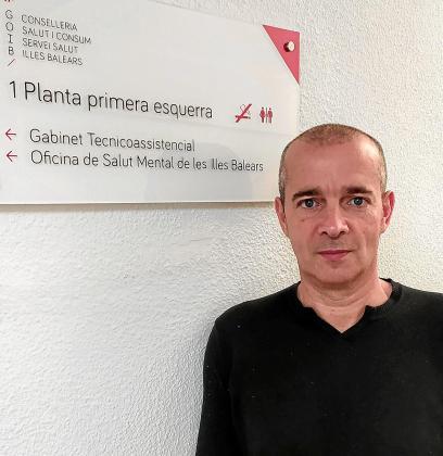 Oriol Lafau es el coordinador de Salud Mental en las Islas.