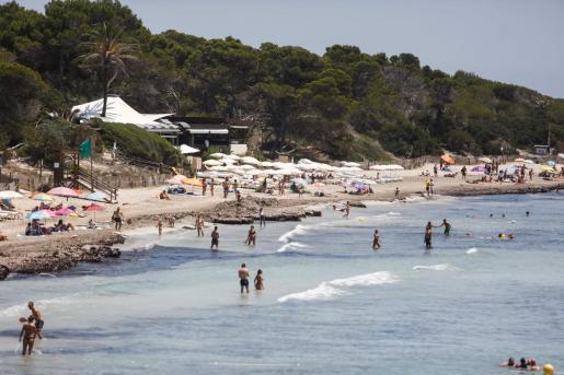 Playa de Ses Salines, en Ibiza.
