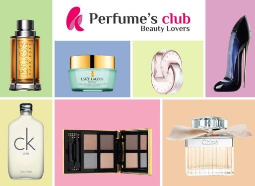 Perfume's Club la tienda 'online' referente para adquirir perfumería y belleza.