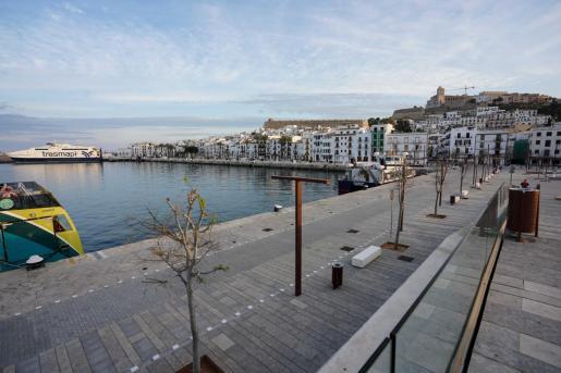 Imagen del Puerto de Ibiza.