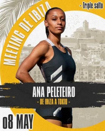 Ana Peleiteiro confirma su participación en el Meeting de Ibiza 2021.