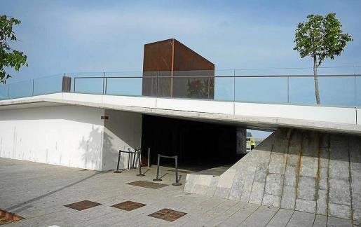 Imagen del edificio de es Martell.
