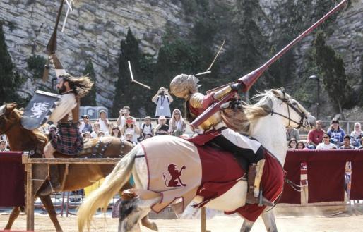 Un evento celebrado en la Ibiza Medieval 2019.