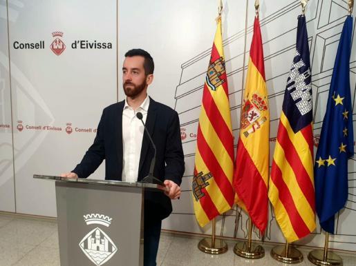 El vicepresidente segundo y conseller de Transparencia, Participación y Transportes, Javier Torres.