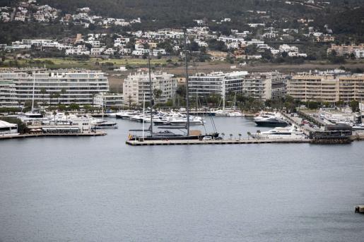 Marina Ibiza en una imagen de archivo.