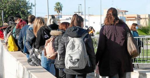 Esta semana se detectaron cinco estudiantes con PCR positiva en Ibiza.
