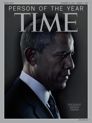 Barcak Obama ha sido nombrado personaje del año por la revista Time.