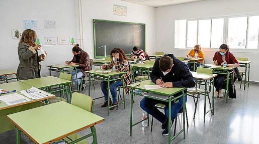 Los exámenes se realizaron en enero en ocho centros distintos.