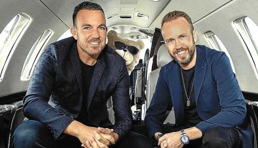 Jordan Rocca, fundador de Toy Room, y Nick McCabe, CEO de Grupo Pacha.