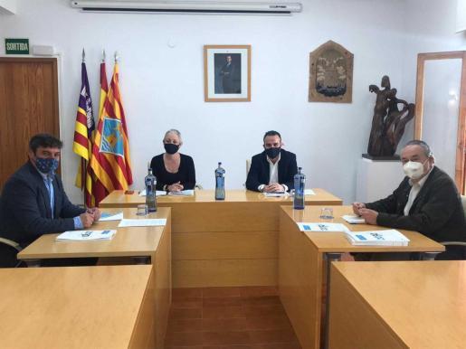Imagen de la reunión que se celebró este martes en Formentera.